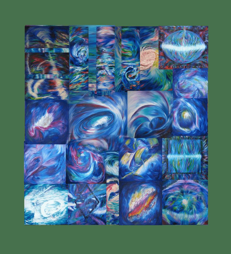 EVA-CASTELL-PINTORA-COLECCION-LUMINICAS-ARGENTINA-MOVIMIENTO-COSMICO-ARTISTA-PLASTICA-ARGENTINA