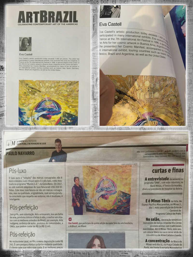 Eva Castell Entrevista de Isabelle Fontes ArtBrazil - Programa Paulo Navarro